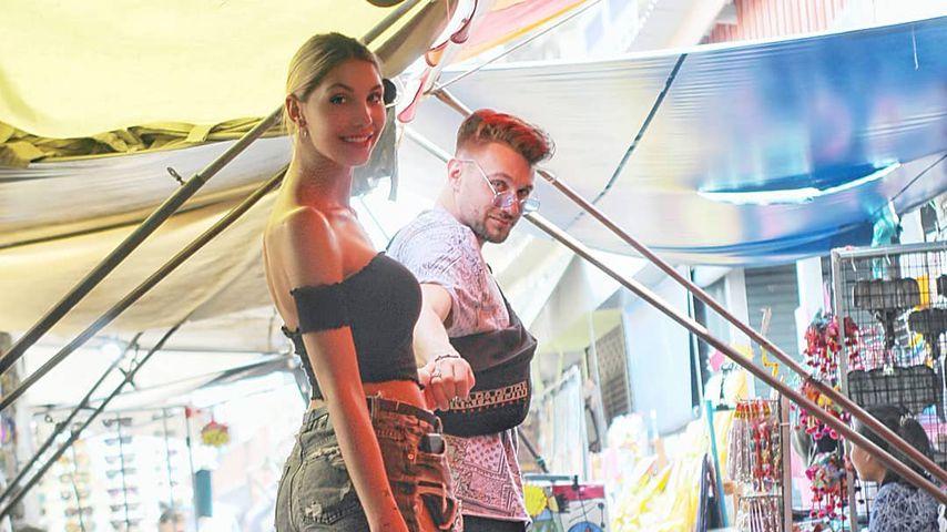 Stephanie Lindner und Michi Bauer 2020 im Thailand-Urlaub