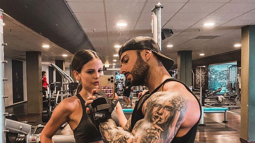 Stephanie Schmitz und Julian Evangelos im Januar 2020