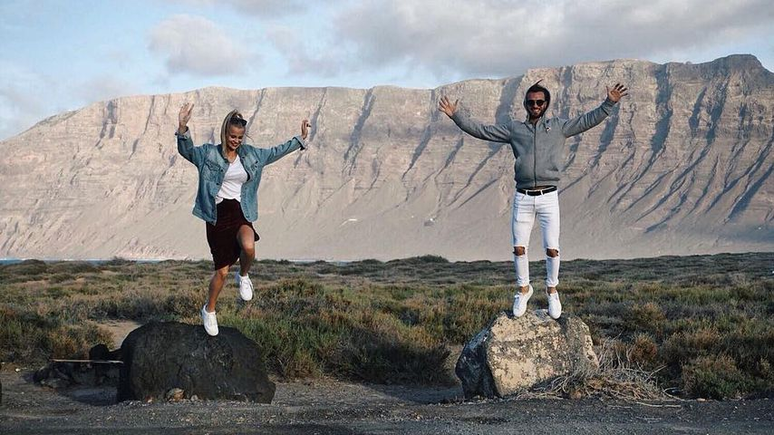 Stephanie Schmitz und Julian Evangelos auf Lanzarote