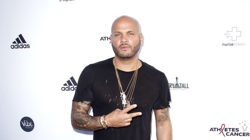 Stephen Belafonte beim Athletes vs Cancer Celebrity Flag Football Game