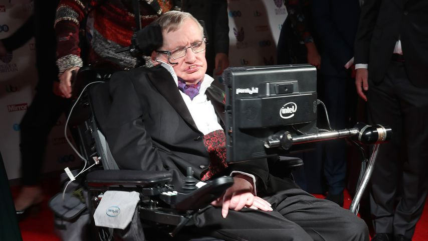 Stephen Hawking bei den Pride Of Britain Awards 2016 in London