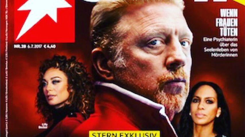 Das Cover von Stern mit Lilly und Boris Becker
