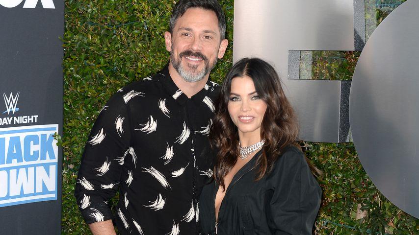 Steve Kazee und Jenna Dewan im Oktober 2019