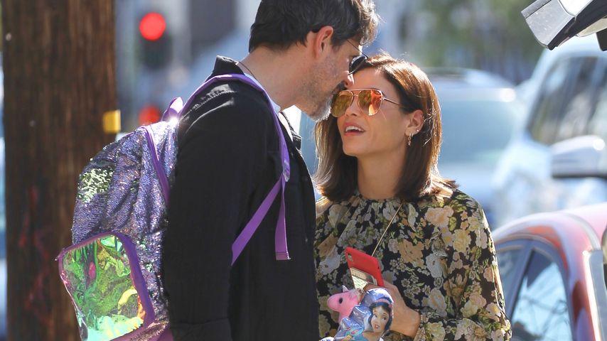 Jenna Dewan happy mit Töchterchen & Freund Steve unterwegs