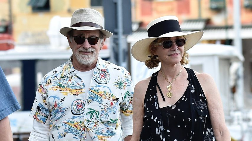 Steven Spielberg und Kate Capshaw im Italien-Urlaub Anfang Oktober 2019