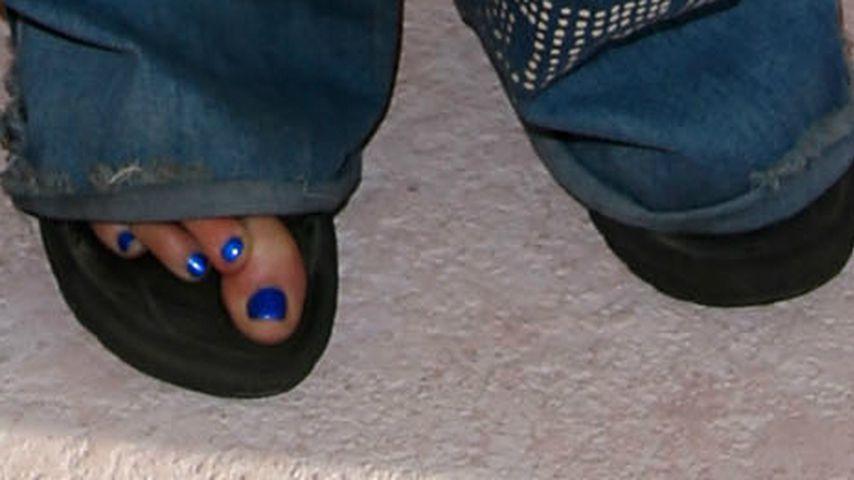 Steven Tylers Füße