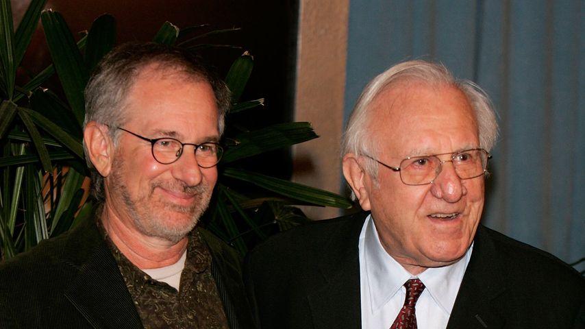 Regisseur Steven Spielberg und sein Vater Arnold