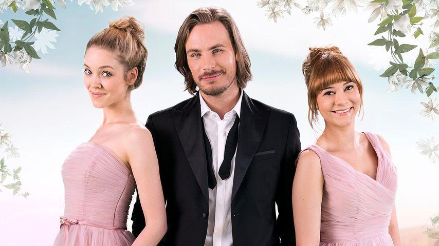 Ella (Victoria Reich, r.), William (Alexander Milz, M.) und Rebecca (Julia Alice Ludwig, l.)