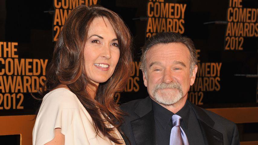 Emotionale Worte von Robin Williams' Witwe über seinen Tod
