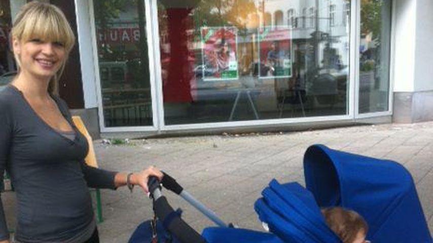 Susan Sideropoulos: Die stolze Mama auf Baby-Tour