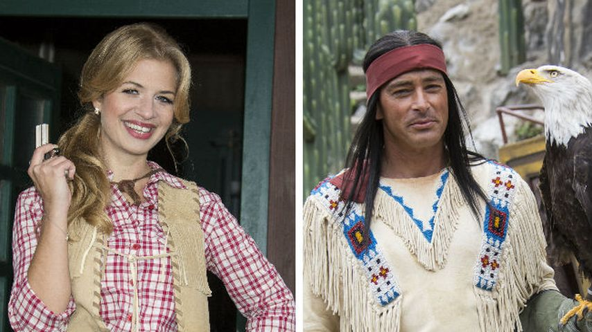 Ex-GZSZ-Susan spielt Cowboy & Indianer mit Jan Sosniok