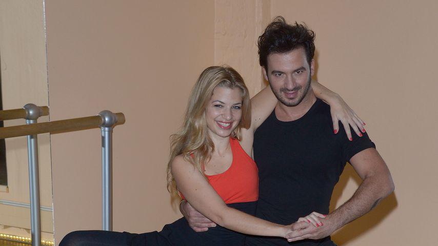 """Susan Sideropoulos und Stefano Terranzzino beim Training für """"Let's Dance"""""""