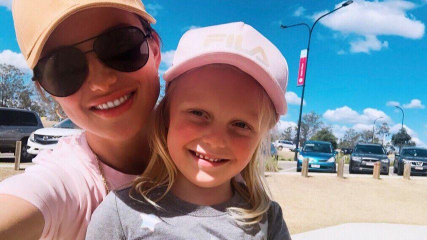 Susie Bradley und ihre Tochter Baby