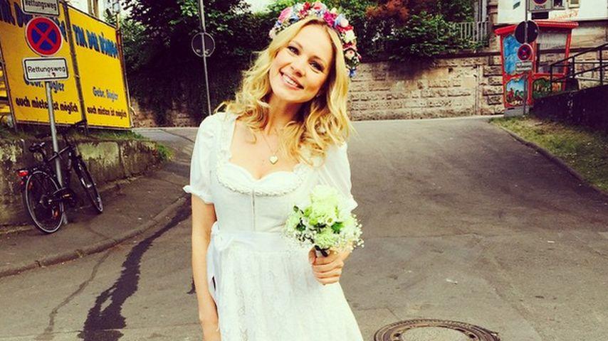 Svenja Holtmann: Hat sie als Blumenmädchen geheiratet?