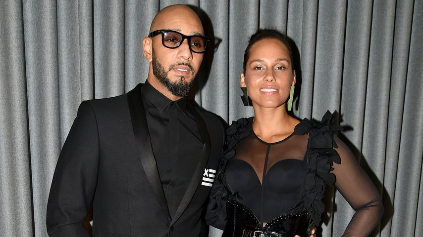 Swizz Beatz und Alicia Keys
