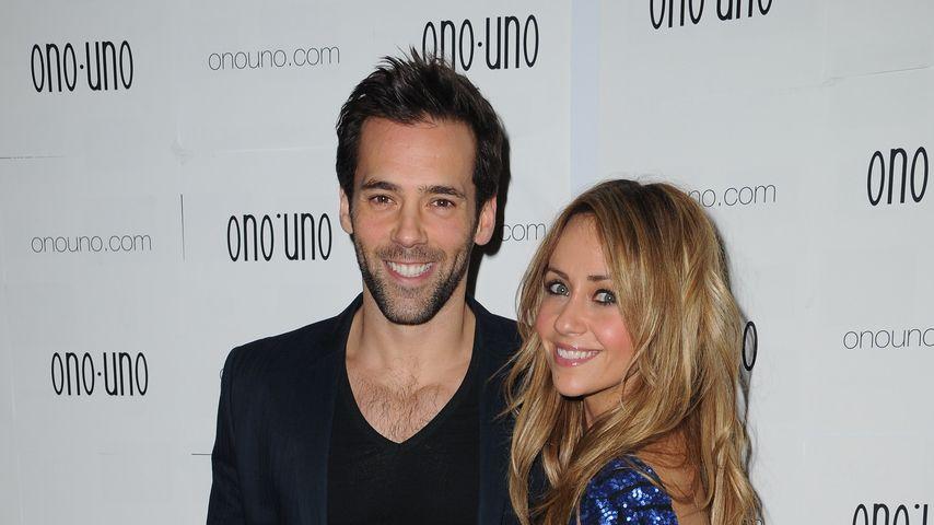 Sylvain Longchambon und Samia Ghadie bei einem Fashion-Label Launch in Manchester
