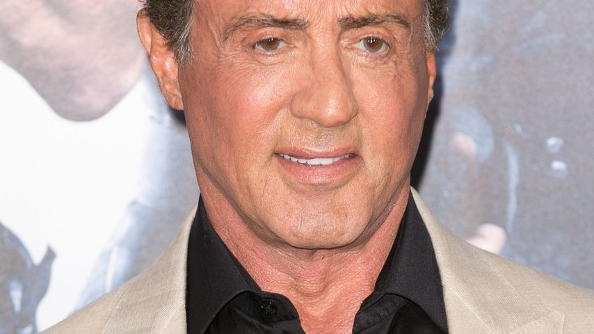 """Sylvester Stallone bei bei der """"The Expendables 3""""-Premiere"""