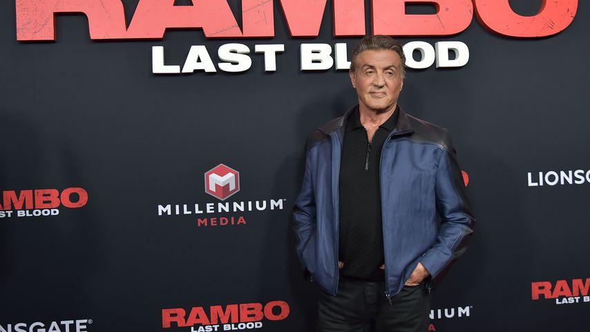 """Sylvester Stallone bei der Premiere von """"Rambo: Last Blood"""", September 2019"""