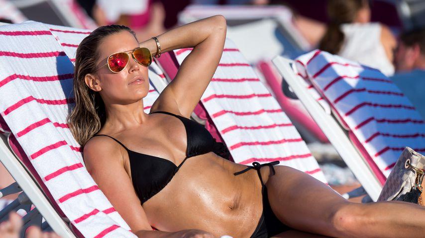 Sylvie Meis im Urlaub in Florida