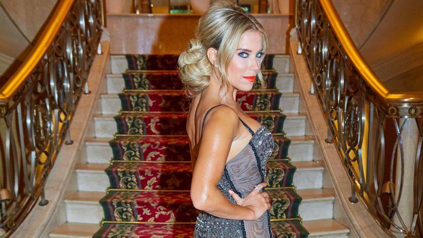 Sylvie Meis im Grand Hotel vor der Abfahrt zur Verleihung der Leading Ladies Awards in Wien