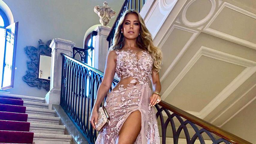 Heißer Hochzeitsgast: Sylvie Meis in einem supersexy Kleid