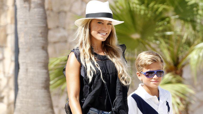 Sylvie Meis und ihr Sohn Damian van der Vaart