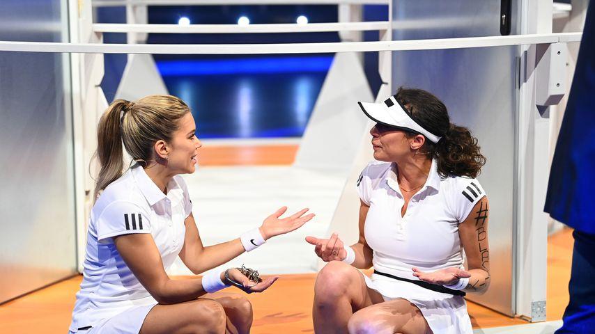 """Sylvie Meis und Lilly Becker bei """"Schlag den Star"""", Juni 2020"""
