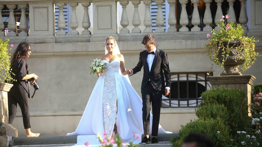 Sylvie Meis' Hochzeit in Florenz im September 2020