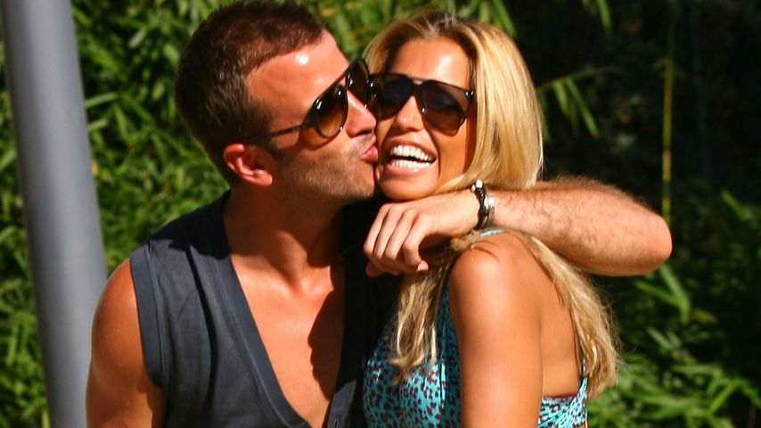 Rafael und Sylvie van der Vaart im Juli 2012 in Marbella