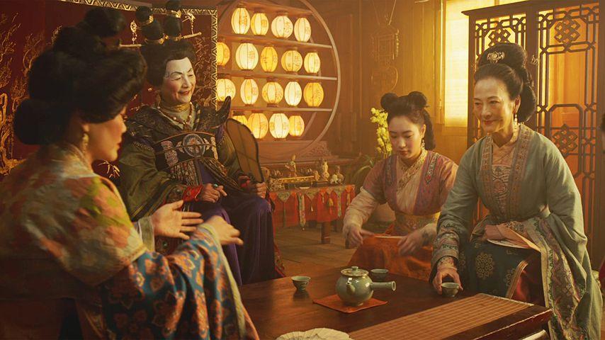 Eine Szene aus Mulan