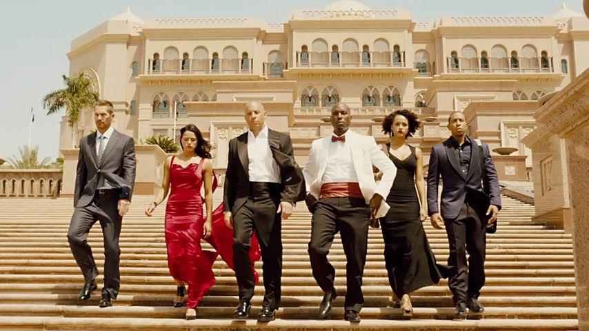 Vin Diesel, Michelle Rodriguez, Paul Walker, Ludacris und Tyrese Gibson