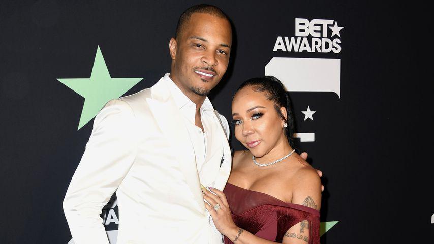 Rapper T.I. und Tameka Harris im Juni 2019