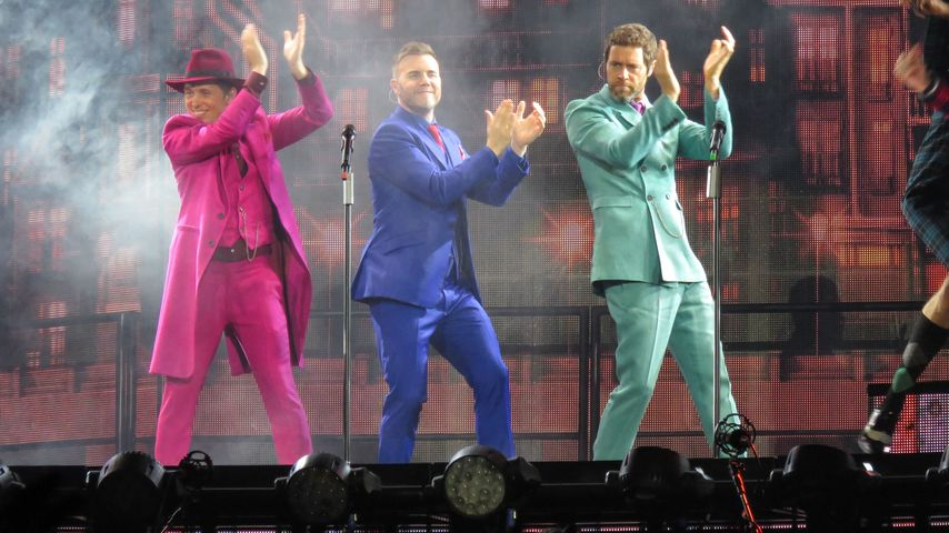 Take That in London auf einem Tour-Konzert