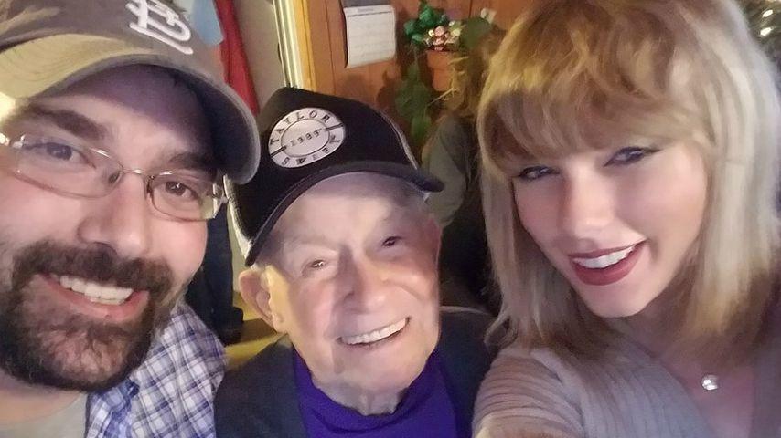 Wie süß: Taylor Swift trifft ihren 96-jährigen Super-Fan!