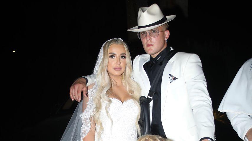 Tana Mongeau und Jake Paul an ihrem Hochzeitstag