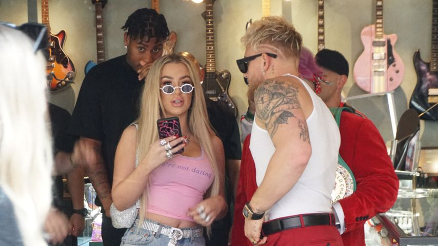 Tana Mongeau und Jake Paul im Januar 2020 in Los Angeles