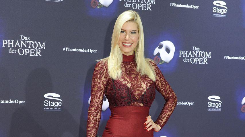 "Tanja Brockmann bei der ""Phantom der Oper""-Premiere in Oberhausen"