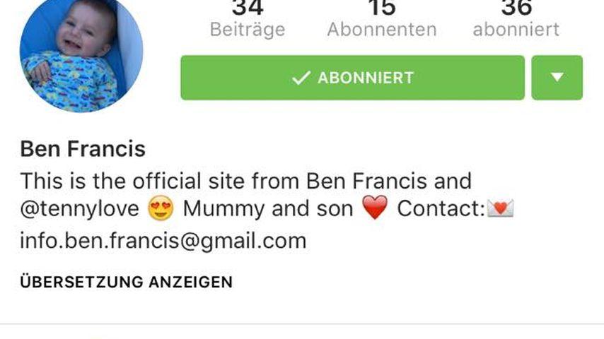 Tanja Tischewitschs Sohn hat jetzt eine eigene Instagram-Seite