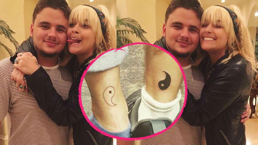 Geschwister-Tattoo: Prince & Paris Jackson zeigen ihre Liebe