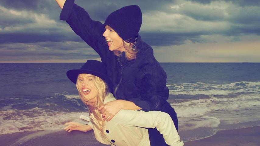 Taylor Swift (oben) und Lily Donaldson