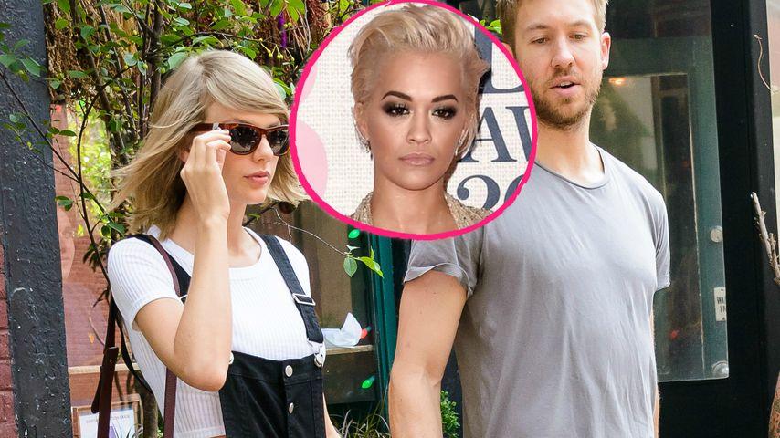 Null Eifersucht! Rita Ora hasst Taylor Swift & Calvin nicht