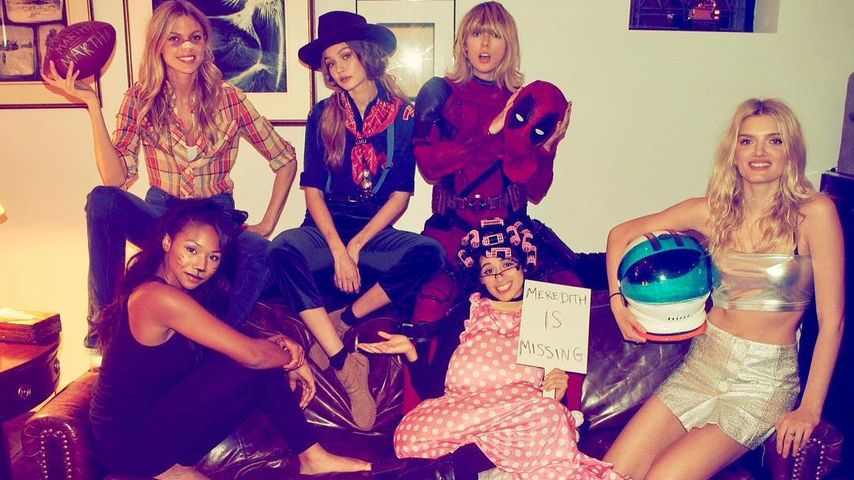 Halloween-Fieber: Taylor Swift als Deadpool & ihr Mega-Squad