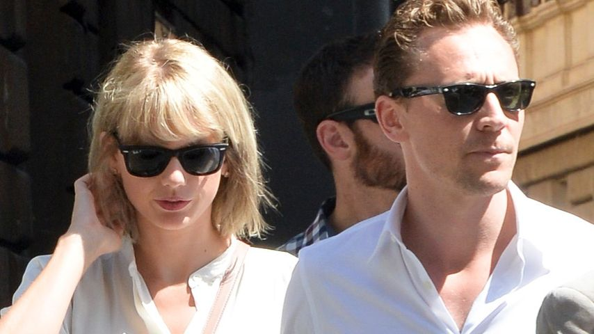Taylor Swift und Tom Hiddleston bei einem Spaziergang in Rom 2016