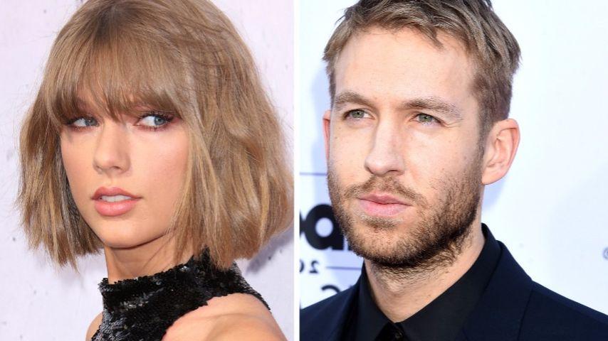 Wegen Hit-Enthüllung: Rosenkrieg zwischen Taylor & Calvin!