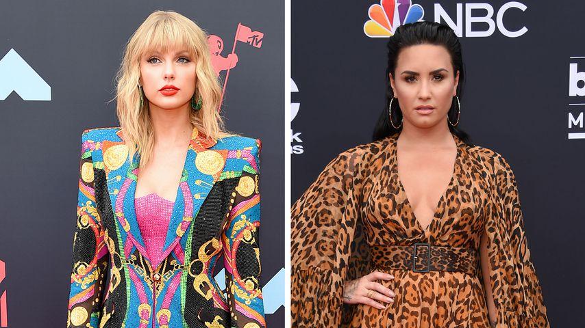 Etwa wegen Taylor Swift? Demi Lovato schwänzte die VMAs!