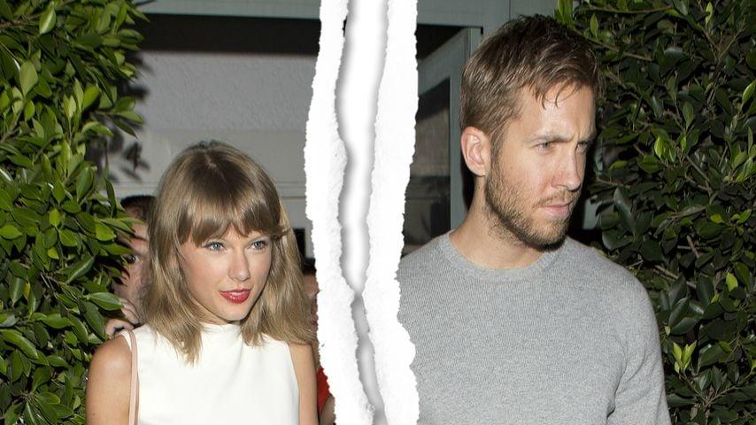 Liebes-Schock: Taylor Swift & Calvin Harris getrennt?