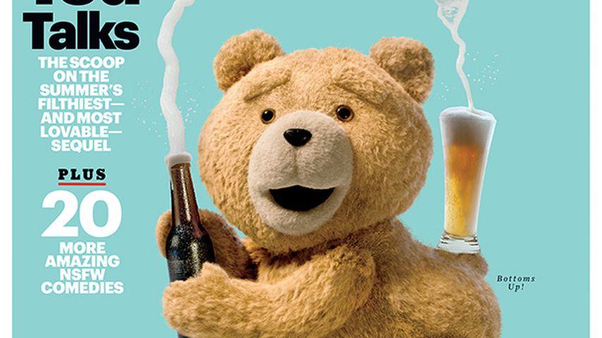 Flauschiger Popo: Ted imitiert Kim Kardashian
