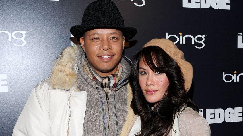 Terrence Howard und Michelle Ghent im Januar 2011