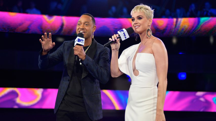 Terrence J und Katy Perry