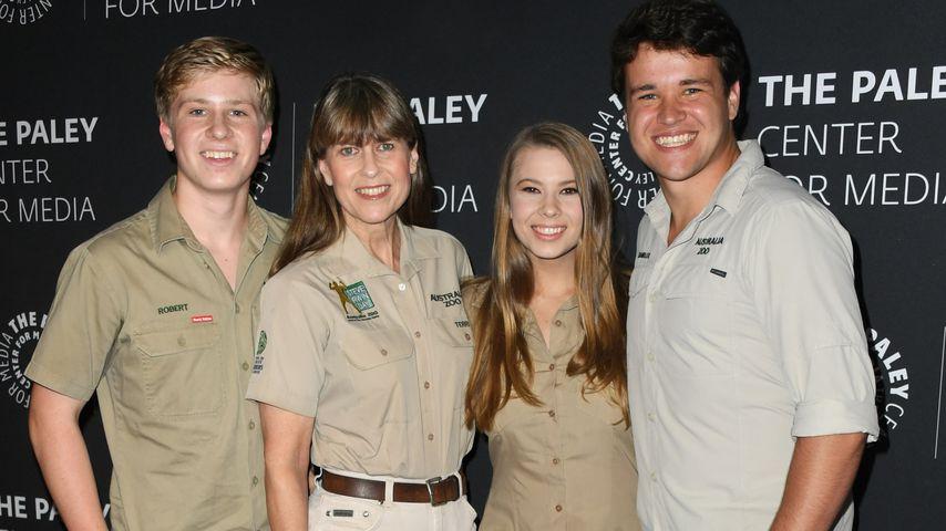 Terri Irwin und ihre Kinder, 2019